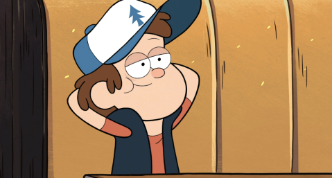 "Dipper Pines from the Disney Channel Series, ""Gravity Falls,"" (c) Disney Channel, 2013"