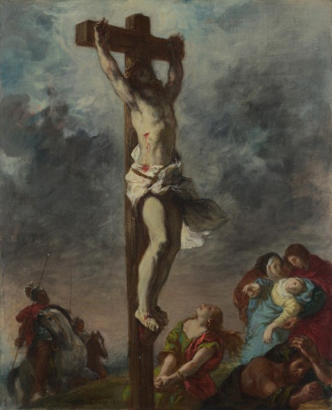artist depiction of Christ on the Cross