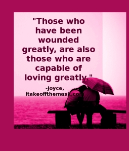 wounded greatly love greatly