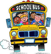children on school bus