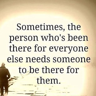 We all need somebody