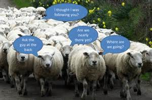 Without the Good Shepherd, the Sheep are lost!