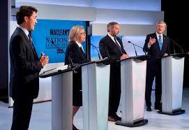 Macleans federal leadership debate