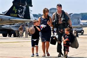 image f navy pilot with family