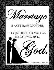 marriage gift from God