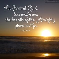 breath of God gives me life