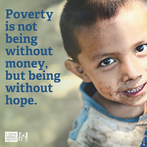 poverty being without hope face of child