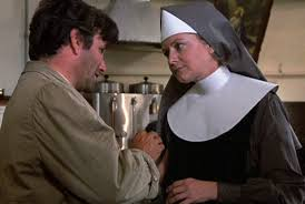 Lt Columbo with nun
