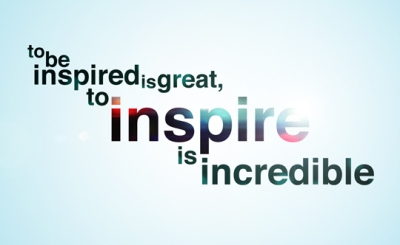 inspired to inspire
