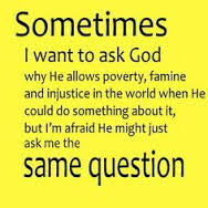 questions we ask God and His response