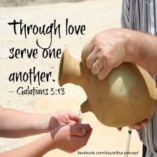 through love serve one another Galtains 5 13