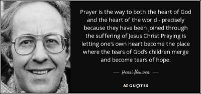 prayer Henri Nouwen