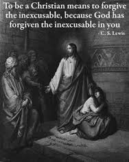 forgiveness for inexcusable C. S. Lewis