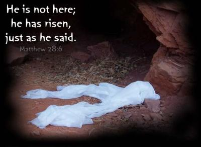 He is risen just as He said